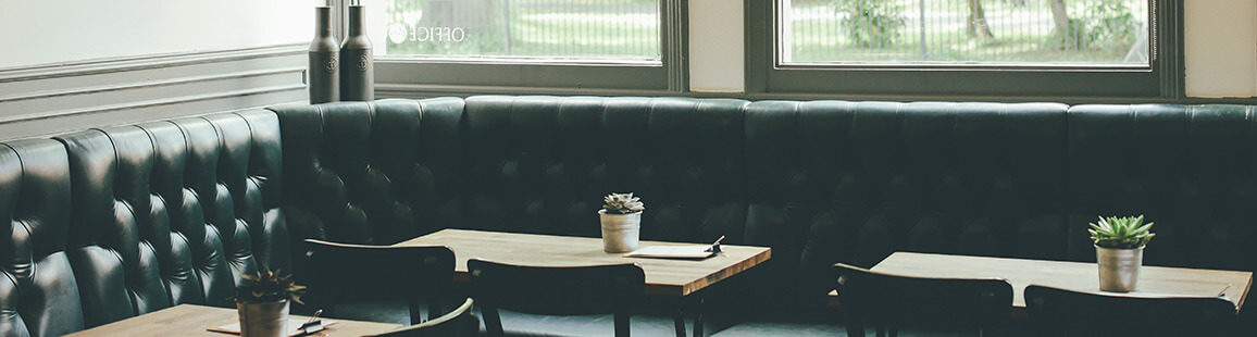 Brugte borde med 60 x 60 bordplade