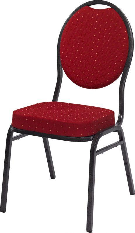 Banquetstol Monza i rød