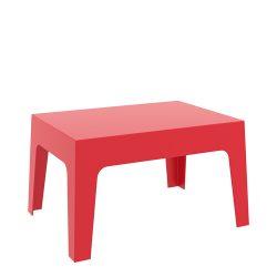 Box bord rød
