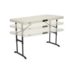 Lifetime 122x61 plastikbord justerbart i højden