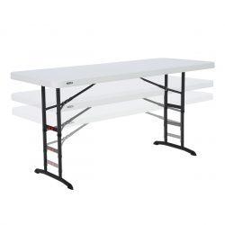 Lifetime 183x76 plastikbord justerbart i højden