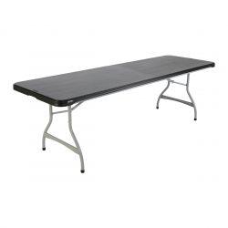Lifetime 245x76 plastikbord i sort