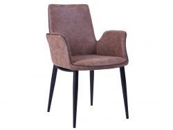 Will dining chair, Brown.