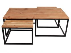Lorry coffee table, set of 3.