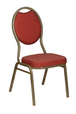 Banquetstol Premium Rød