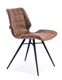 Bryce stol i mørk brun