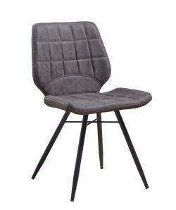 Renzo designstol i grå