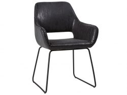 Angel dining chair, Black