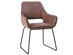 Angel dining chair, Brown