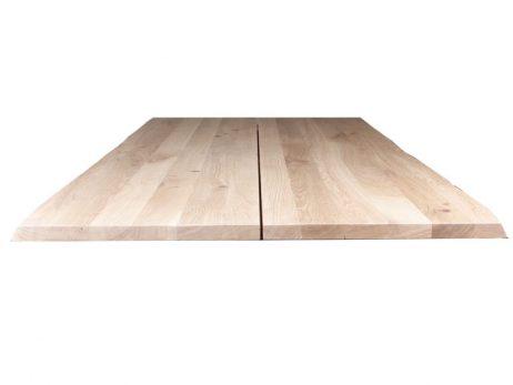Curve plankebord, hvidolieret