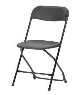 Flot klapstol med ryglæn