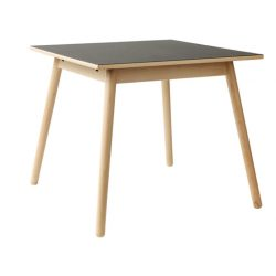 Poul M. Volther, C35A Spisebord i Natur/Sort