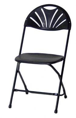 Smart klapstol med ryglæn