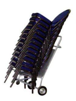 Trolley til stablestole