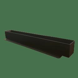 Værkstøjsbakke til småt opbevaring på 90 cm I sort