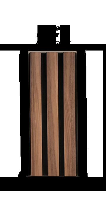 Premium Akupanel Amerikansk Valnød med natur olie 3000×600