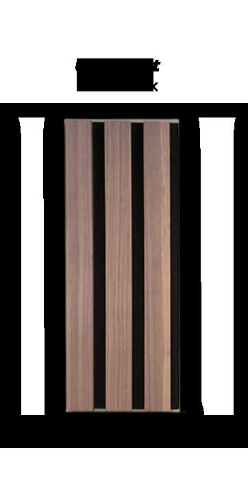 Premium Akupanel Amerikansk Valnød Ubh. 3000×600