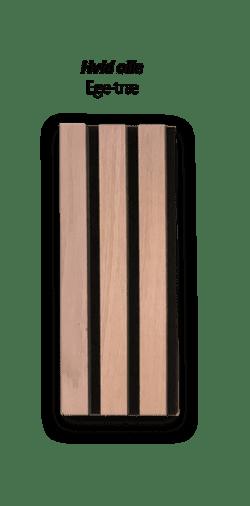 Premium Akupanel hvidolieret Eg 2400×600