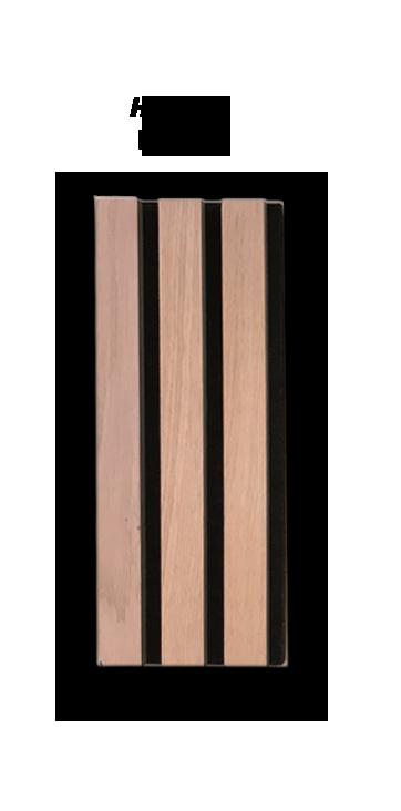 Premium Akupanel hvidolieret Eg 3000×600