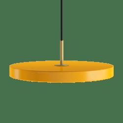 Asteria saffron yellow Ø 43 x 4 cm