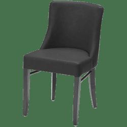 Charlotte stol i sort