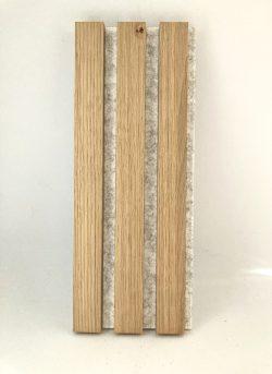 Premium Akupanel Ubh. Eg med lys filt 2400×600