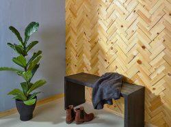 NORTO Leth / Prøvepakke med fyrretræslister til vægbeklædning