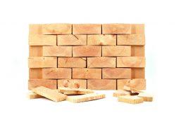 NORTO Skov 135 / Prøvepakke med endetræsklodser til vægge